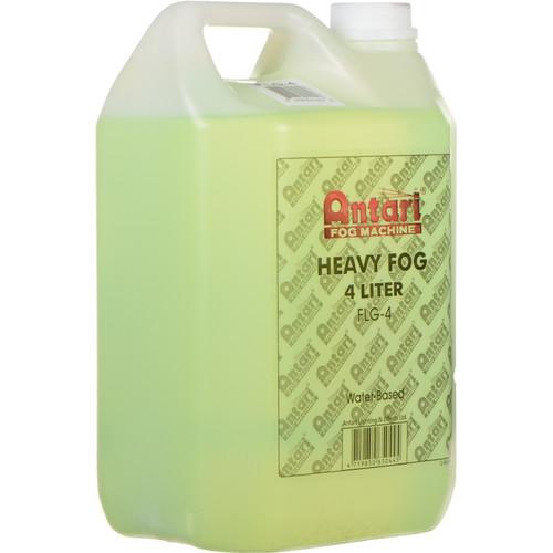 Antari FLG-4 Long-Lasting Fog Fluid for Antari Fog Machines (1 Gallon, Green Formula)