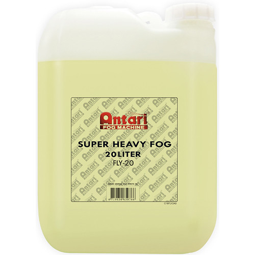 Antari FLY-20 Super-Heavy Fog Fluid for Antari Fog Machines (5.3 Gallons, Yellow Formula)
