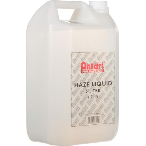 Antari Fog Machine HZL-5 Antari Oil-Based Haze Liquid for Haze Machines (5 Liter)