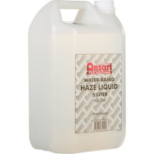 Antari HXL-5 Water-Based Haze Liquid for Haze Machines (1.3 Gallons)