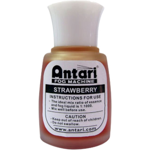 Antari Fog Machine Scented Essence (20ml Bottle, Strawberry)