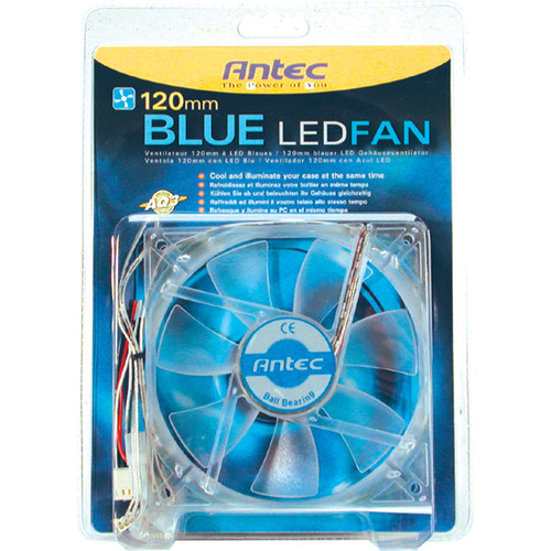 Antec Blue LED 120mm Cooling Fan
