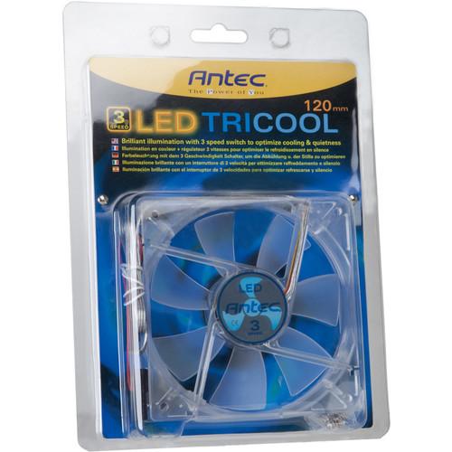 Antec TriCool 120mm Blue LED Cooling Fan