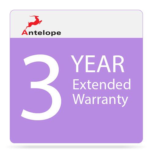 Antelope Extended Warranty for Isochrone 10MX Clock Generator