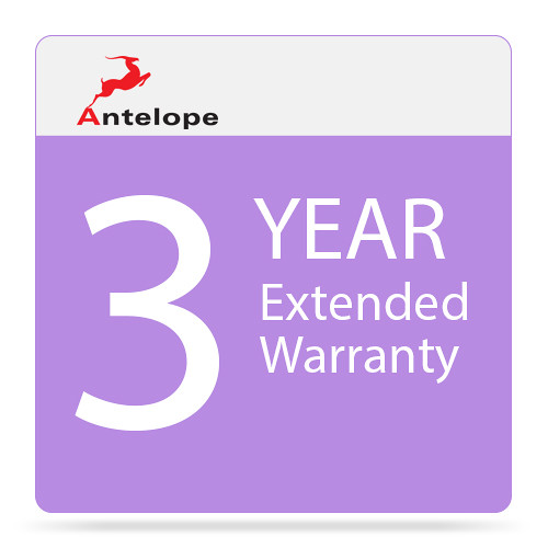 Antelope 3-Year Extended Warranty for Audiophile 10M
