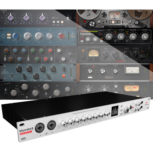 Antelope Discrete 8 Synergy Core Thunderbolt & USB Audio Interface with DSP & FGPA Processing