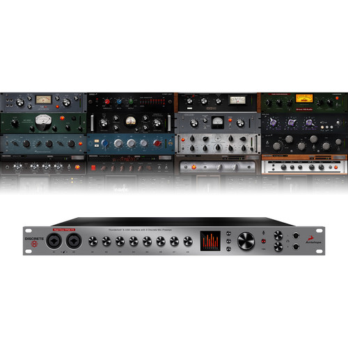 Antelope Discrete 8 Thunderbolt/USB 26x32 Audio Interface with Basic FX Pack
