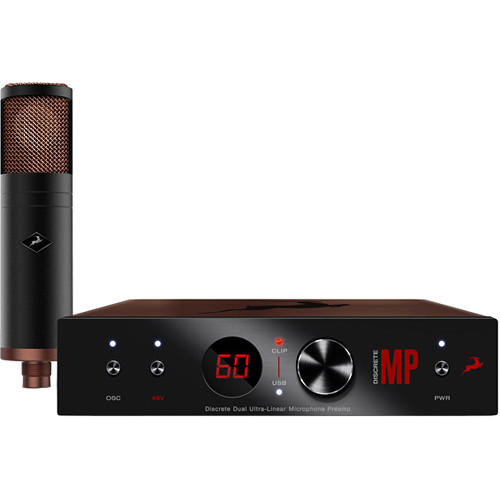 Antelope Edge Strip Bundle with Modeling Microphone & Preamp