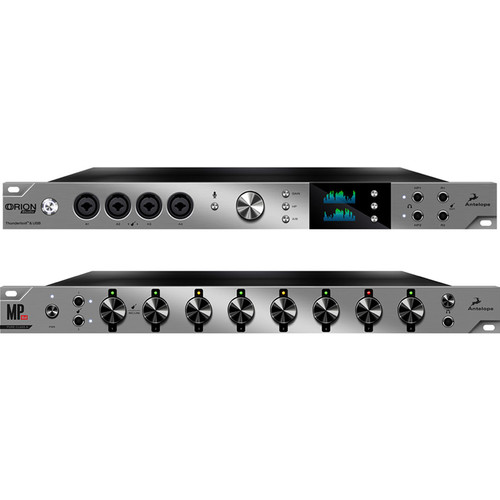 Antelope MP8d 8-Channel Microphone Preamp & Orion Studio Multichannel Interface Bundle