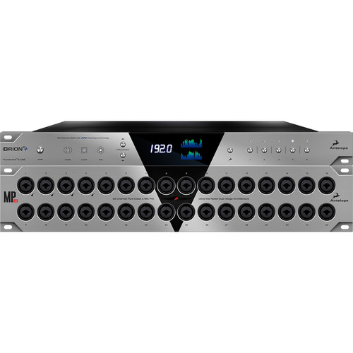 Antelope Orion32+ 64-Channel AD/DA and 32-Channel Microphone Preamplifier Bundle