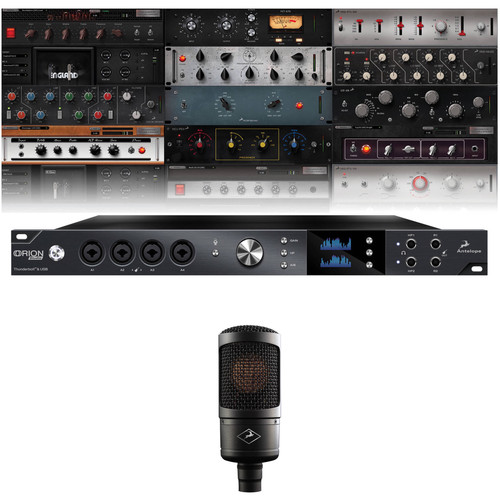 Antelope Orion Studio Rev 2017 Audio Interface with Edge Solo Microphone Kit