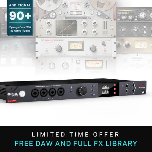 Antelope Orion Studio Synergy Core Pro Audio Interface