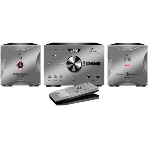 Antelope Zodiac Platinum DSD DAC Kit with Voltikus Power Supply & 10M Audiophile Atomic Clock