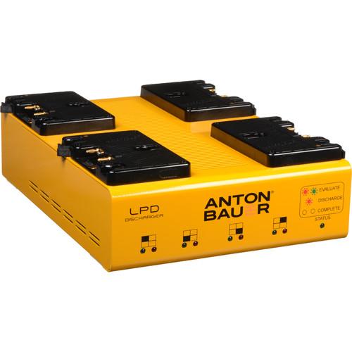 Anton Bauer LPD Travel Discharger (GoldMount)