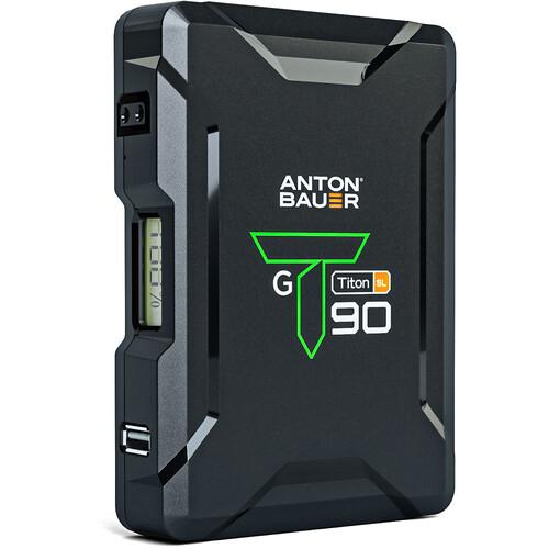 Anton Bauer Titon SL 90 95Wh 14.4V Battery (Gold Mount)