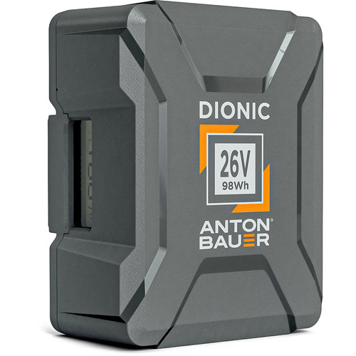 Anton Bauer Dionic 98Wh 26V Gold Mount Plus Battery