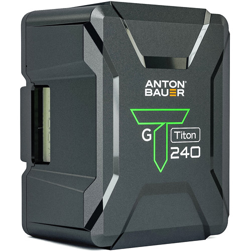 Anton Bauer Titon 240 238Wh 14.4V Battery (Gold Mount)