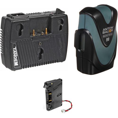 Anton Bauer Digital 90 & Charger Kit for URSA / URSA Mini (Gold Mount)
