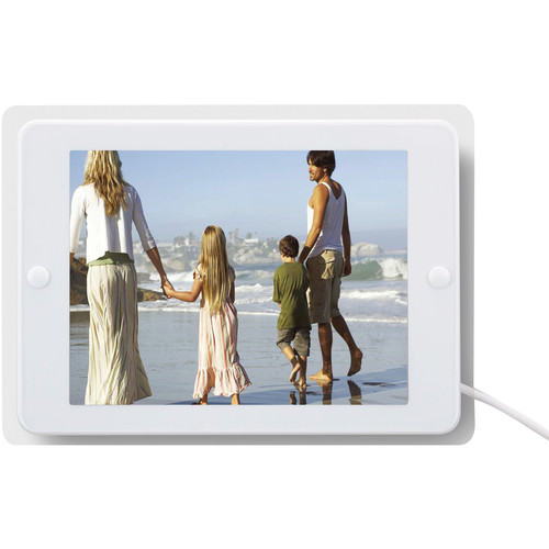 ANTOP Antennas AT-204BW Photo Frame Amplified Indoor HDTV Antenna (Glossy White)