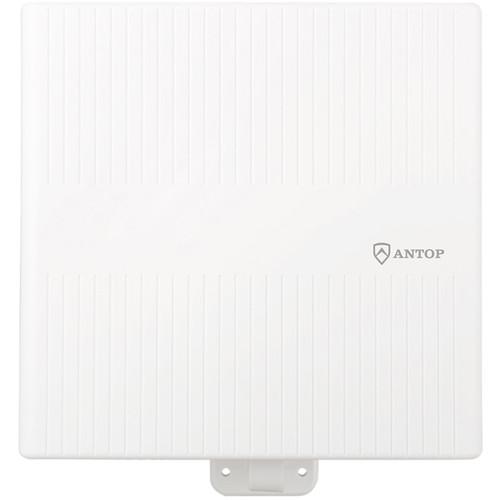 ANTOP Antennas AT-413B Flat Panel Outdoor/Attic Amplified HDTV Antenna (White)