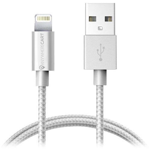 Anywhere Cart MFI 6' Lightning To USB Woven