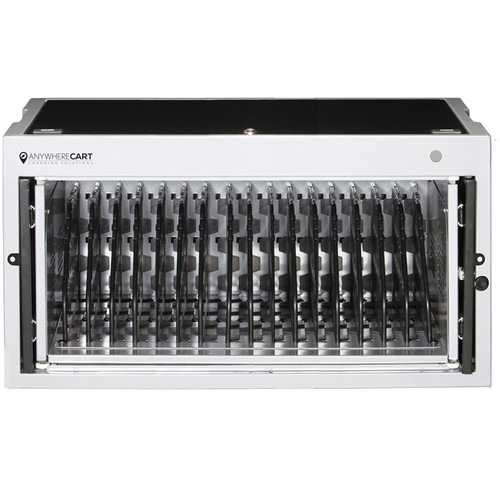 """Anywhere Cart Ac-Mini 16-Bay Charging Cabinet - Up To 15"""""""
