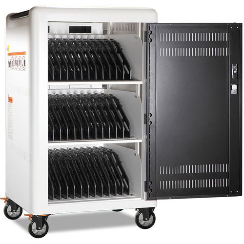 """Anywhere Cart 36-Bay Smart Cabinet, Charging Devices up to 14"""""""