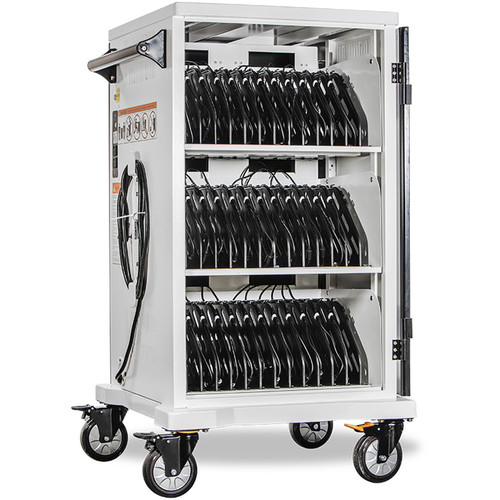 """Anywhere Cart AC-SLIM-PW45 Pre-Wired 36-Bay Charging Cart (Devices up to 15"""")"""