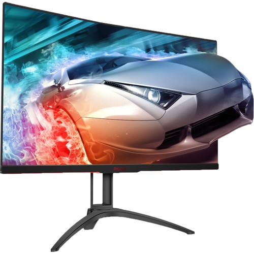 "AOC AG322QC4 31.5"" 16:9 Curved 144 Hz FreeSync LCD Monitor"