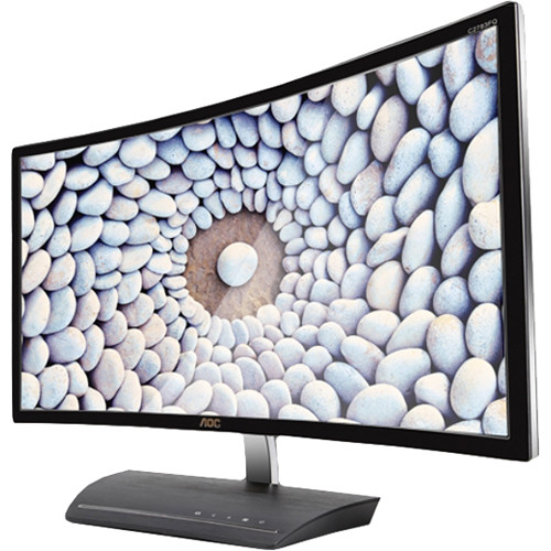 "AOC C2783FQ 27"" Widescreen LED Backlit LCD Curved Monitor"