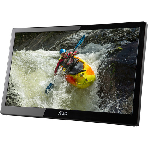 "AOC E1659FWUX 15.6"" 16:9 USB 3.1 Gen 1 Powered LCD Monitor"