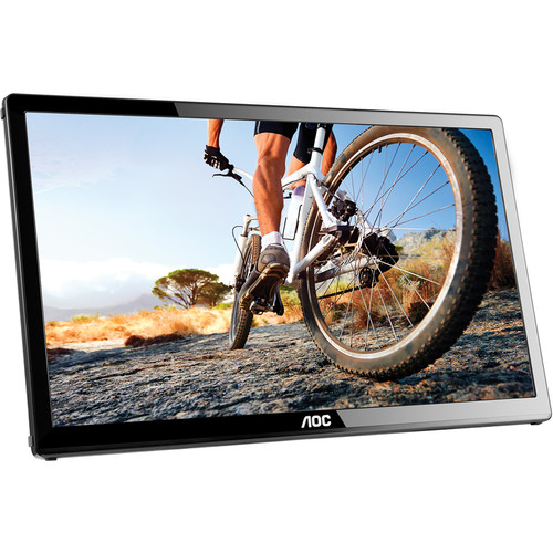 "AOC E1759FWU 17"" 16:9 USB-Powered LCD Monitor"