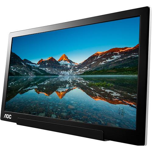 """AOC I1601FWUX 15.6"""" 16:9 Portable IPS Monitor"""