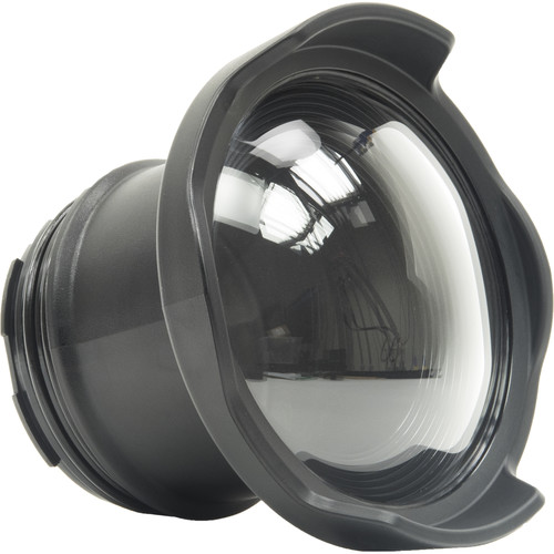 """AOI DLP-003 4"""" Glass Semi-Dome Port for Olympus PEN Underwater Camera Housings"""