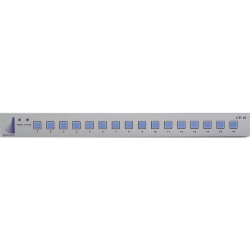 Apantac 16-Button GPI/ASCII IP Control Panel for TAHOMA Multiviewer Series