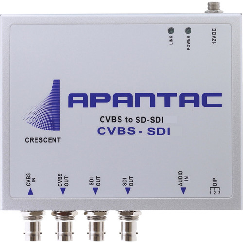 Apantac CVBS-SDI Composite to SDI Converter without Scaler