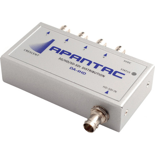 Apantac 3G-SDI 1x4 Re-Clocking Distribution Amplifier