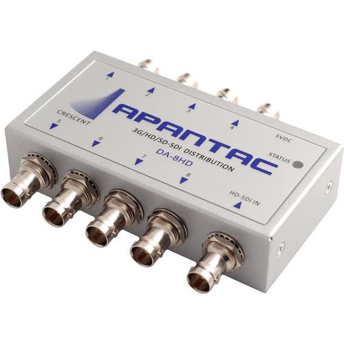 Apantac 3G-SDI 1x8 Re-Clocking Distribution Amplifier