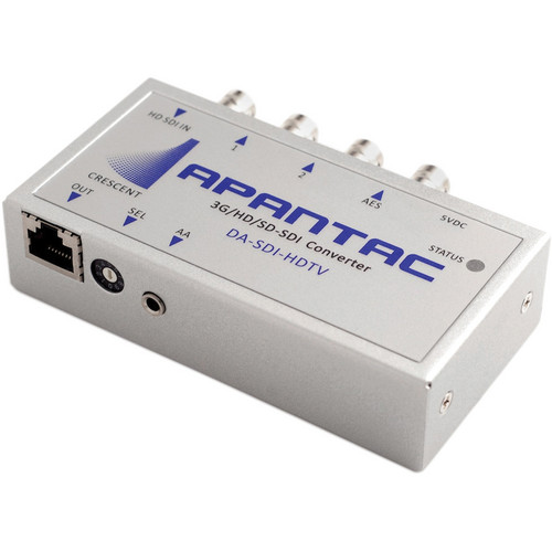 Apantac DA-SDI-HDTV SDI to HDMI/DVI over Ethernet Converter with 2 Looping Outputs