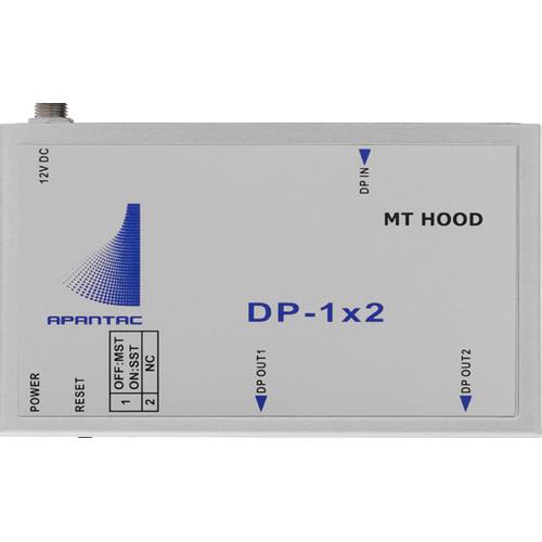 Apantac 1x2 DisplayPort 1.2 Distribution Amplifier