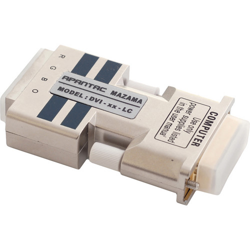 Apantac DVI-XX-LC Single-link DVI-D Extender with 4 LC Type Fiber Optic Cables