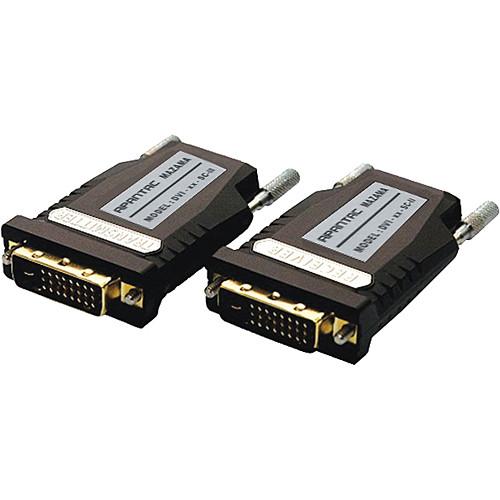 Apantac DVI-xx-SC-II Single-link Extender with Multi-mode SC Fiber Optic Cable
