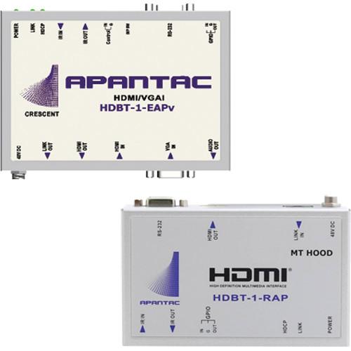 Apantac HDBaseT HDMI over CATx HDBT-1-EAPv Extender & HDBT-1-RAP Receiver Set