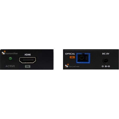 Apantac HDMI 2.0 over Multi-Mode Fiber Extender Set (650')