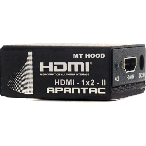 Apantac 1 x 2 HDMI Splitter (2nd Generation)
