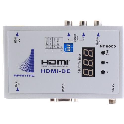 Apantac HDMI Audio De-Embedder with Audio Delay