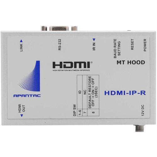 Apantac Single-Port HDMI/RS232/IR over Ethernet Receiver (Up to 328')