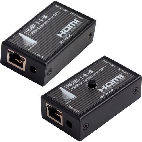 Apantac Single-Port HDMI Extender / Receiver Set with IR
