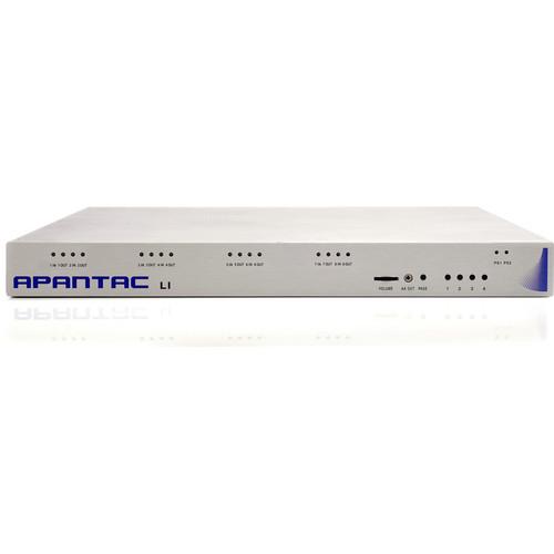 Apantac Tahoma LI-4SD 4 Input SD-SDI Multiviewer with Looping Inputs (1RU)