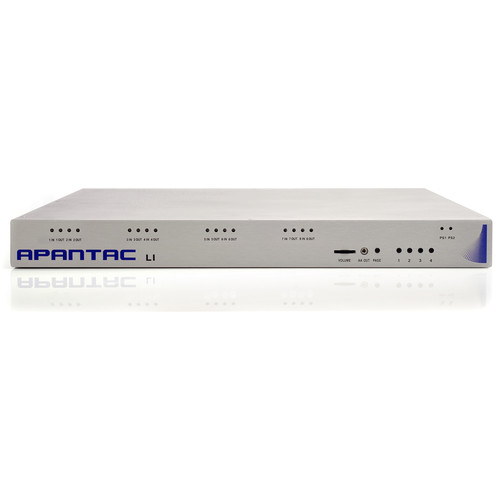 Apantac Multiviewer 8 Auto-Detect HD/SD-SDI Video Inputs with Active Loop-Through